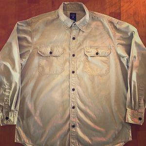 Redhead Tan Button-down long sleeve Shirt